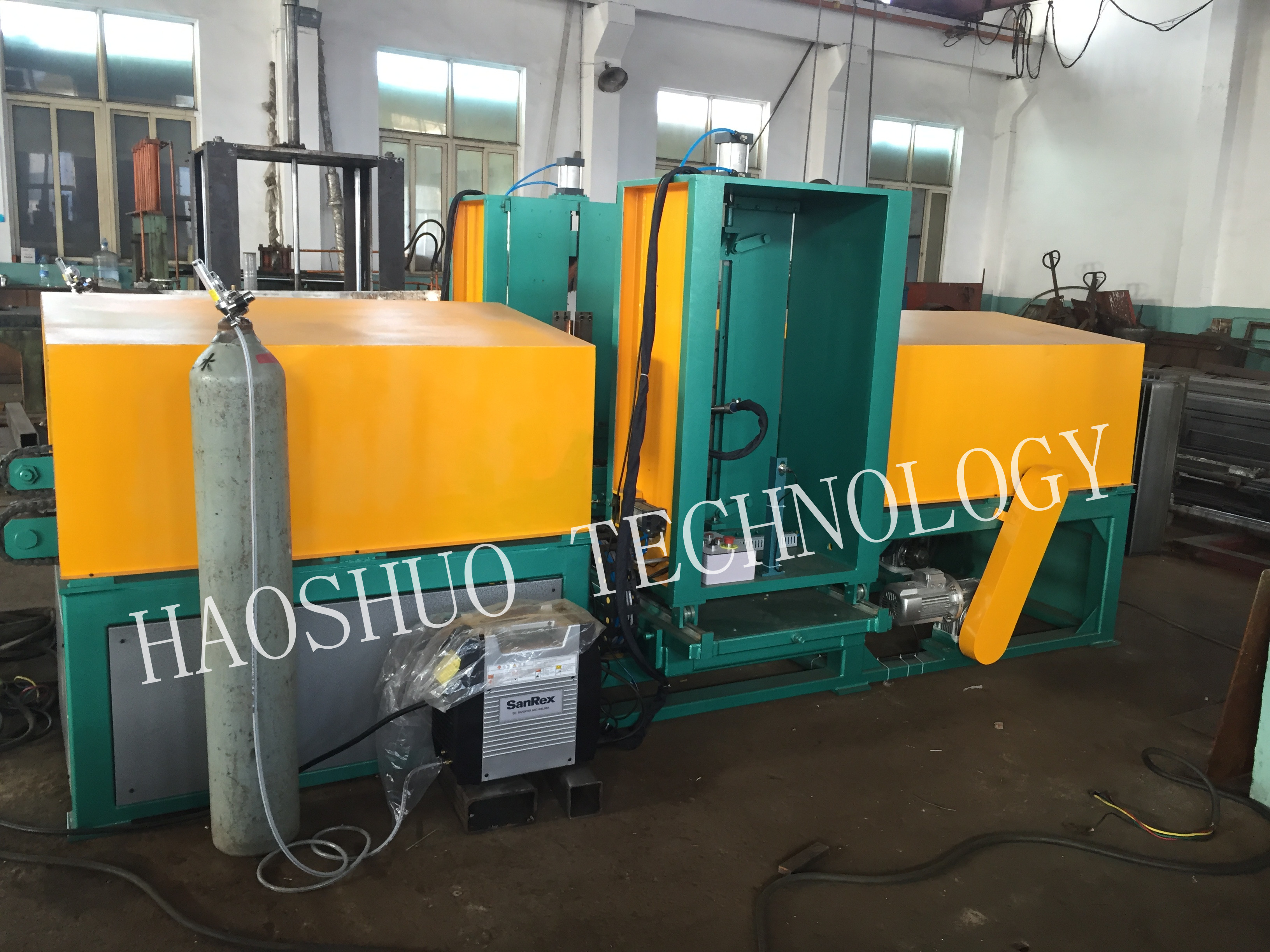 Corrugated Fin Forming Machine